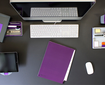 Ordnung auf dem Schreibtisch