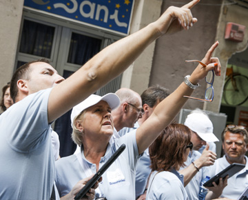 Soennecken Impuls 2015 - Tabtour durch Barcelona